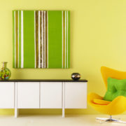 Greenery Stripe Artwork