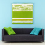 Greenery Abstract Mini Painting