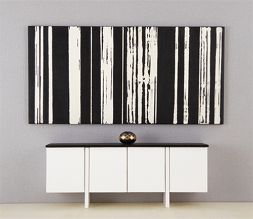 Modular mini wall art collection by mini modern paintings for Minimalist wall painting